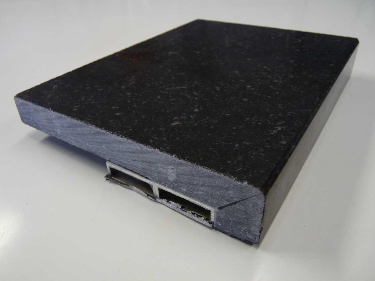 Marbre galaxy cuisine - Plan de travail marbre noir ...