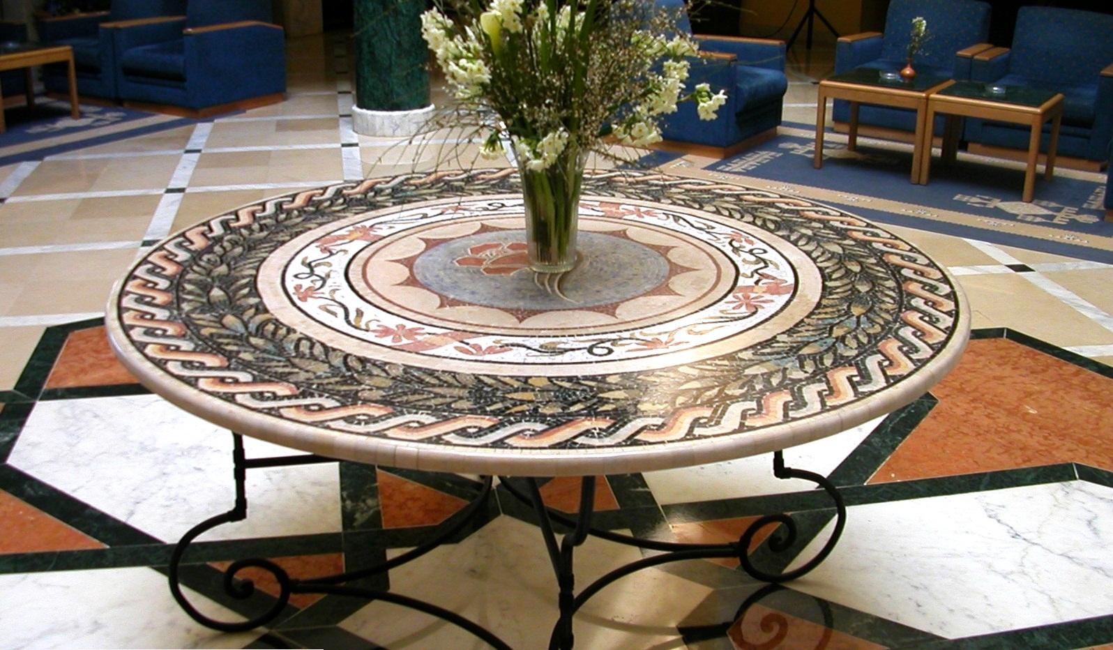 tables en mosa que smac tunisie. Black Bedroom Furniture Sets. Home Design Ideas
